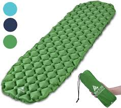 Amazon.com : Hikenture Backpacking Sleeping Pad Ultralight Camping Pad,  Upgraded Design Air Support Sleeping Mat, Compact Lightweight for Sleeping  Bag, Car, Outdoor, Camp, Hammock (Army Green) : Sports & Outdoors